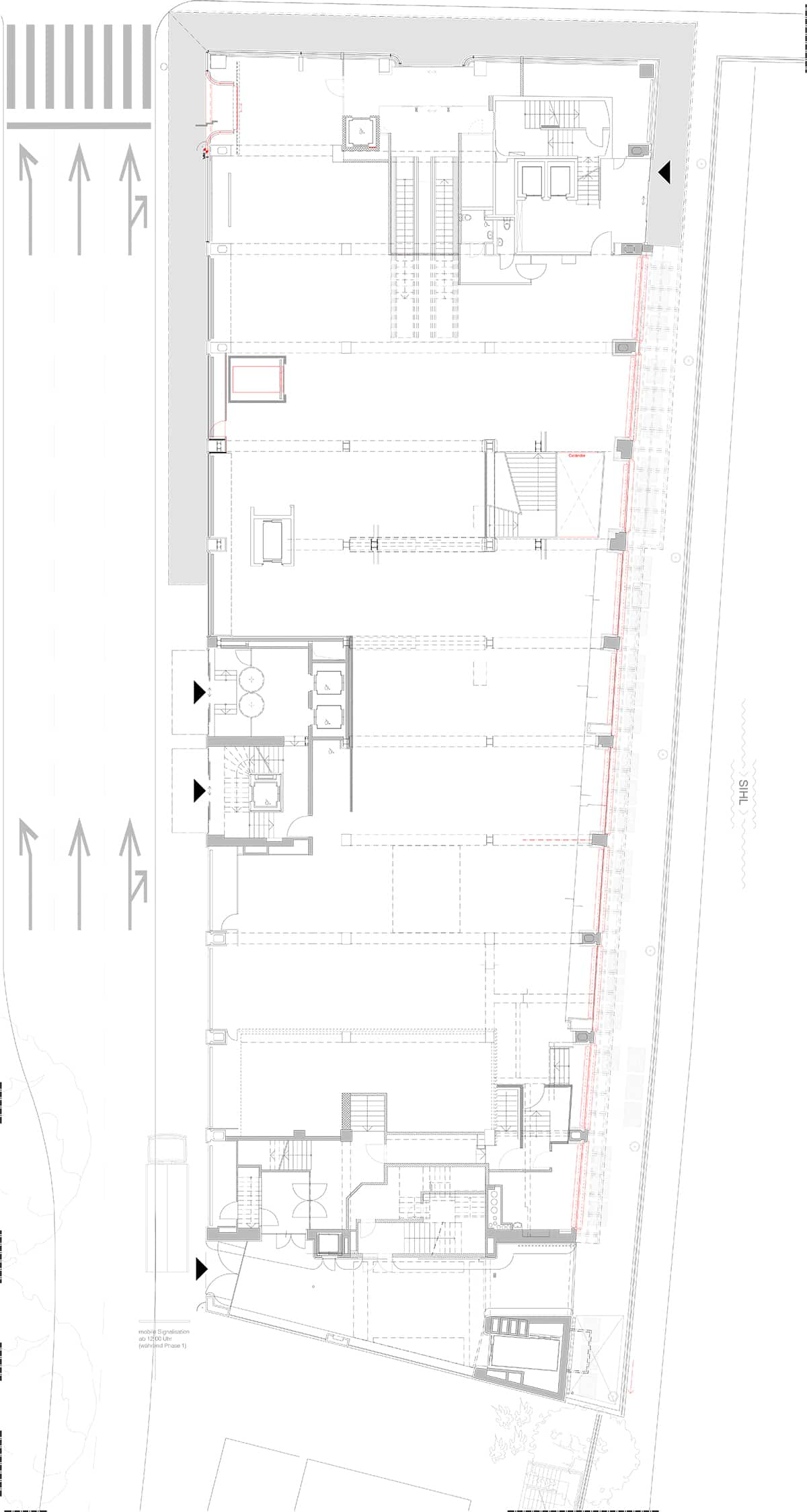 Rückbau Athleticum Haus Ober Plan