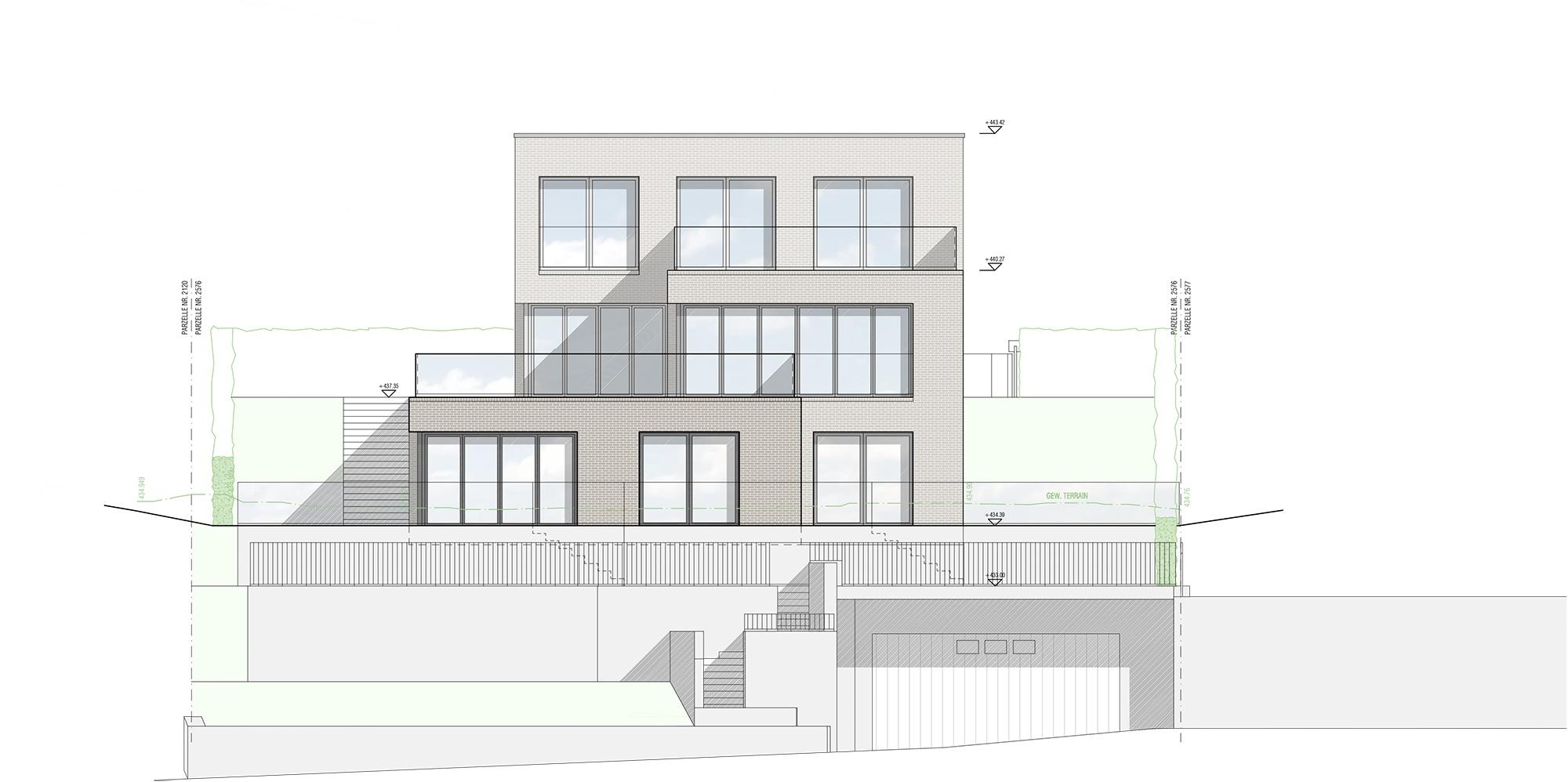 Inter Concept – Fassade Nordost