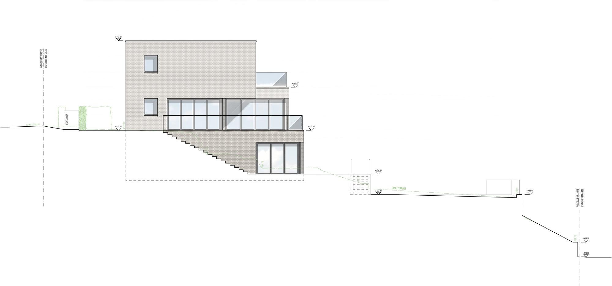 Inter Concept – Fassade Südost