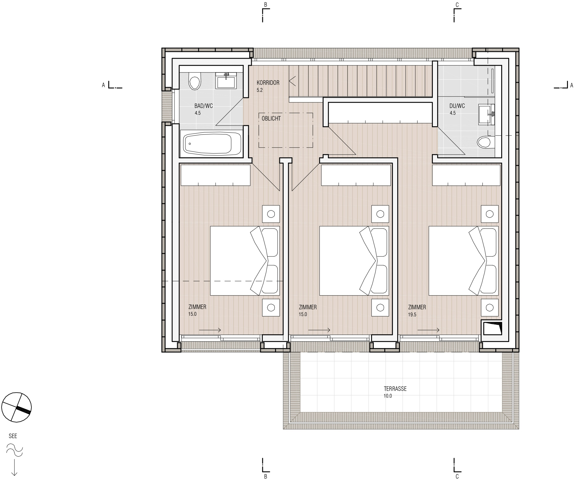 Inter Concept – Grundriss OG
