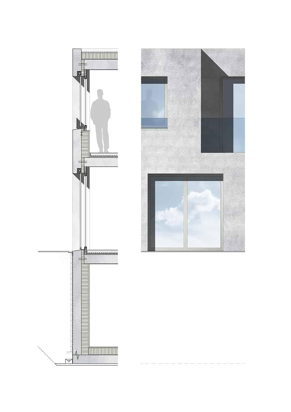 X:Projekte466-Studie OberriedenPläneFassadenschnitt Fassade