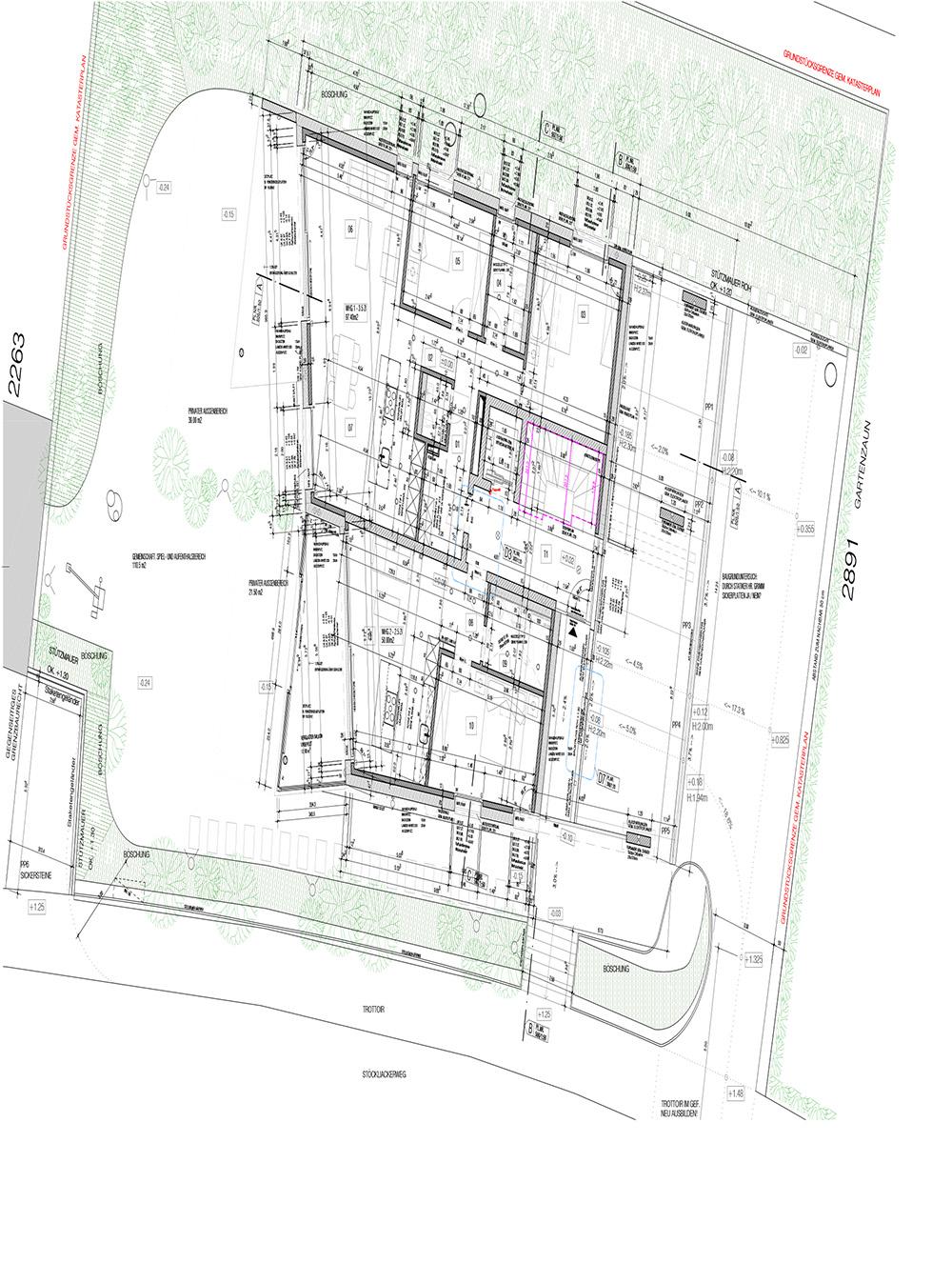 Plan für Projekt Zofingen